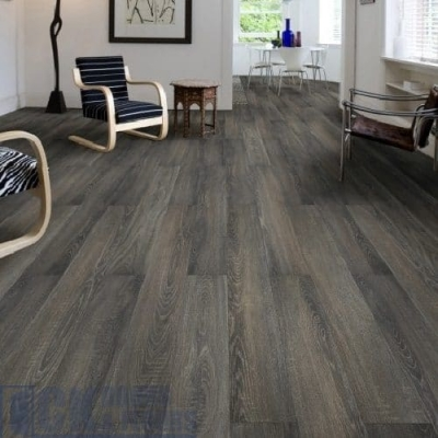 Canadia 12mm Charcoal Grey Laminate 8030 8.6m2 job lot: £50