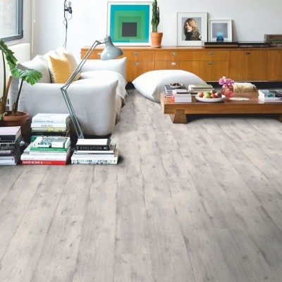Quickstep Im1861 Concrete Wood Light Grey £19.99