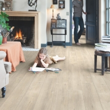 Quickstep Im1857 Saw cut oak beige £19.99m2
