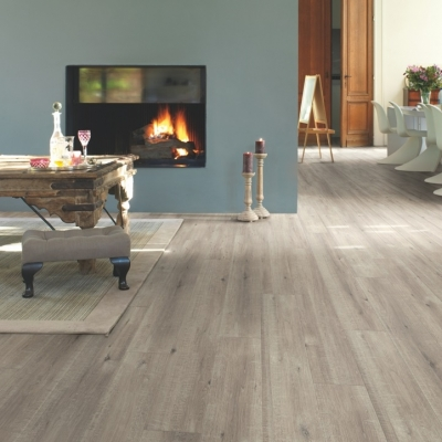Quickstep Im1858 Saw Cut Oak Grey-£19.99 M2