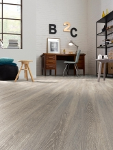 E.X Luxury vinyl Planking Smoked grey oak £13.99 m2